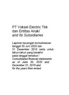 Pt Voksel Electric Tbk